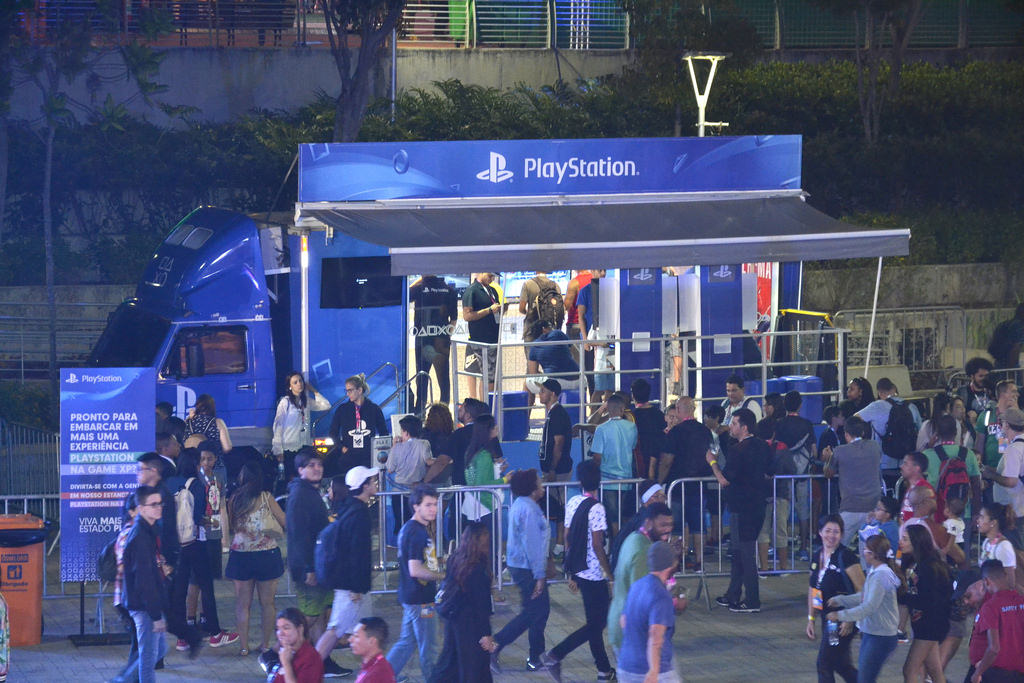 Playstation na Estada divulgação
