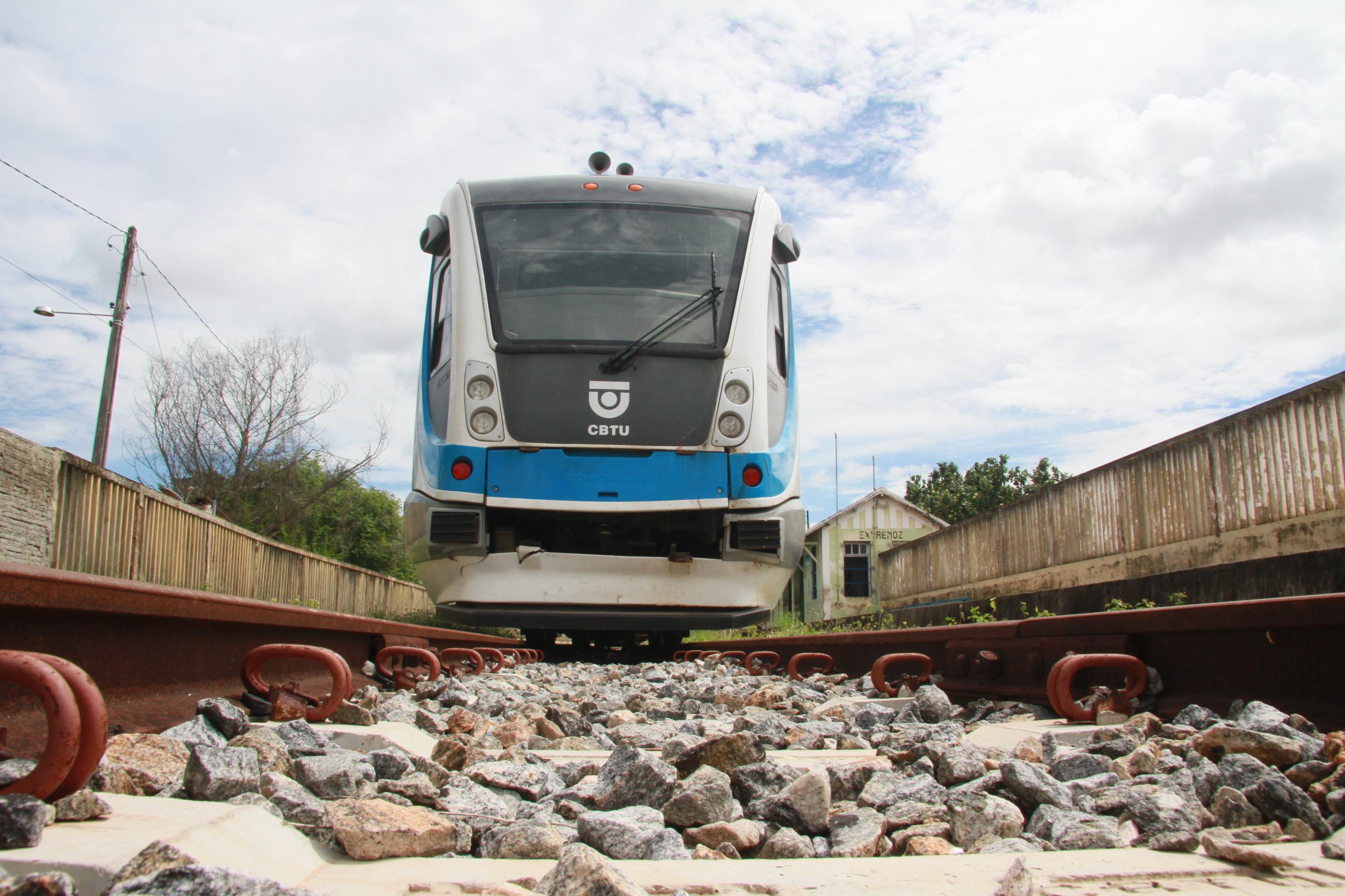 VLT Trem urbano em Extremoz 6