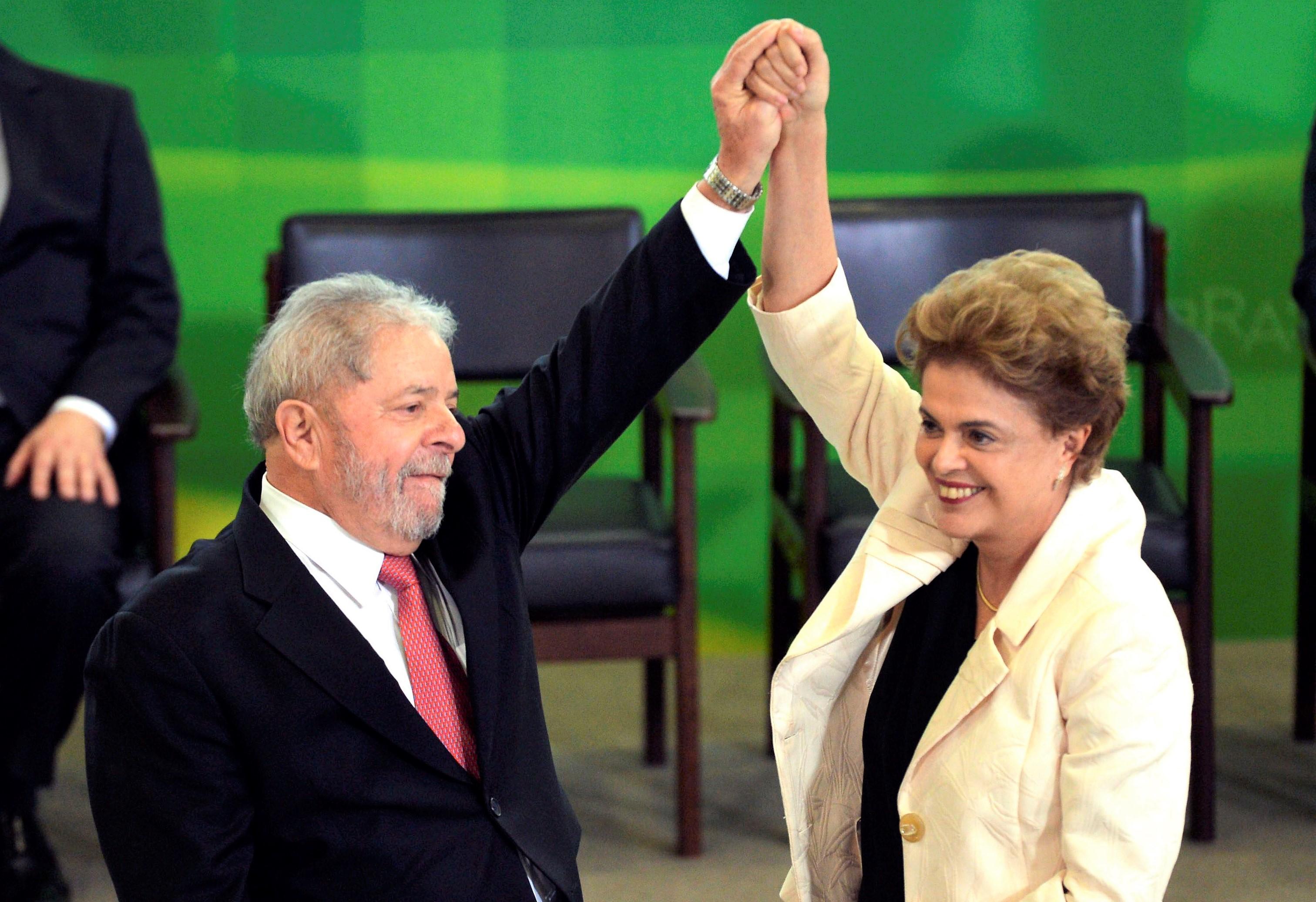 Dilma Lula Foto José Cruz ABr