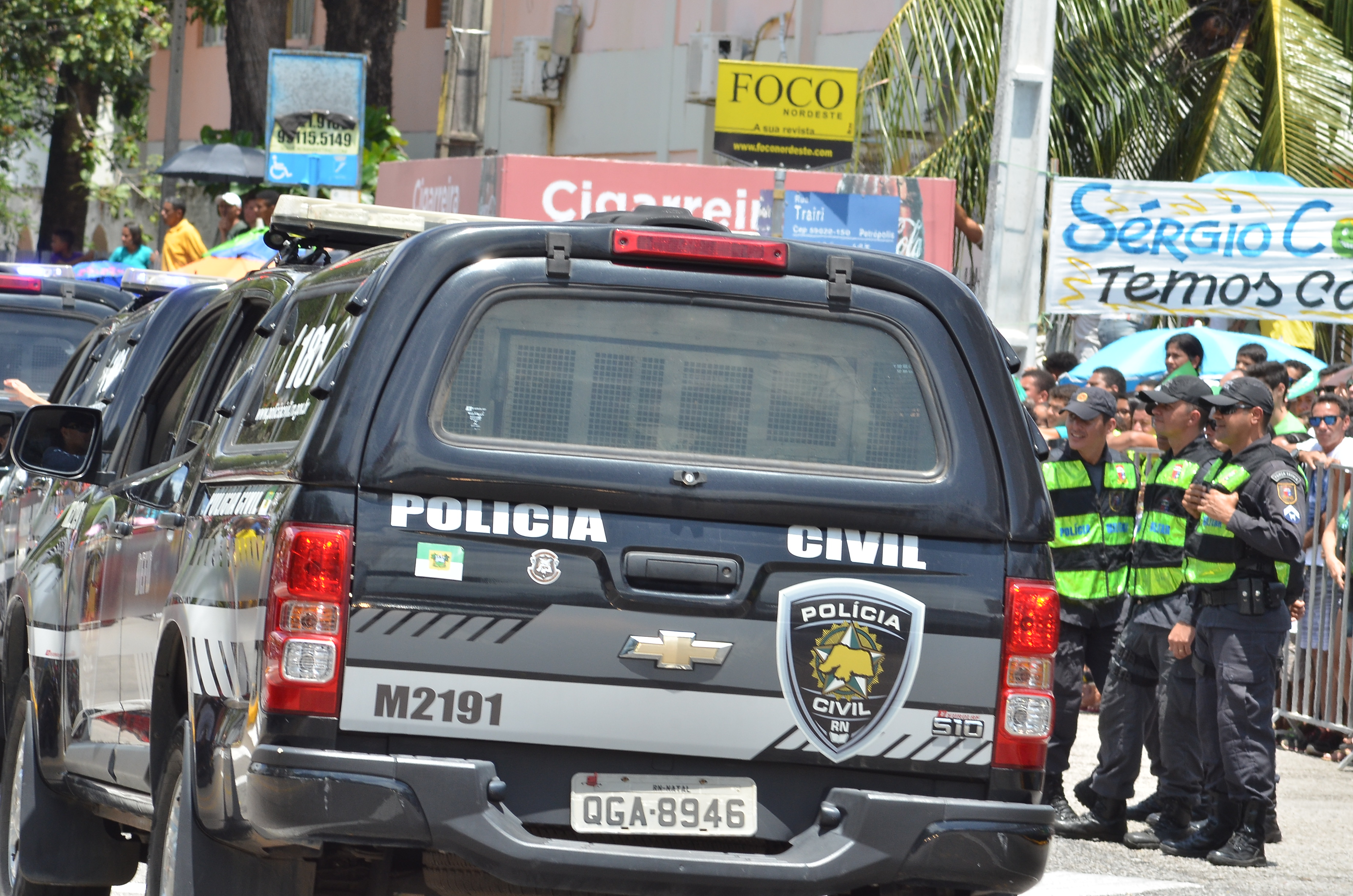 Viaturas da Policia Civil RN 13