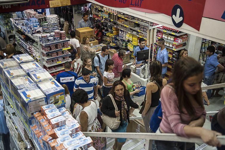 comércio inflação brasil