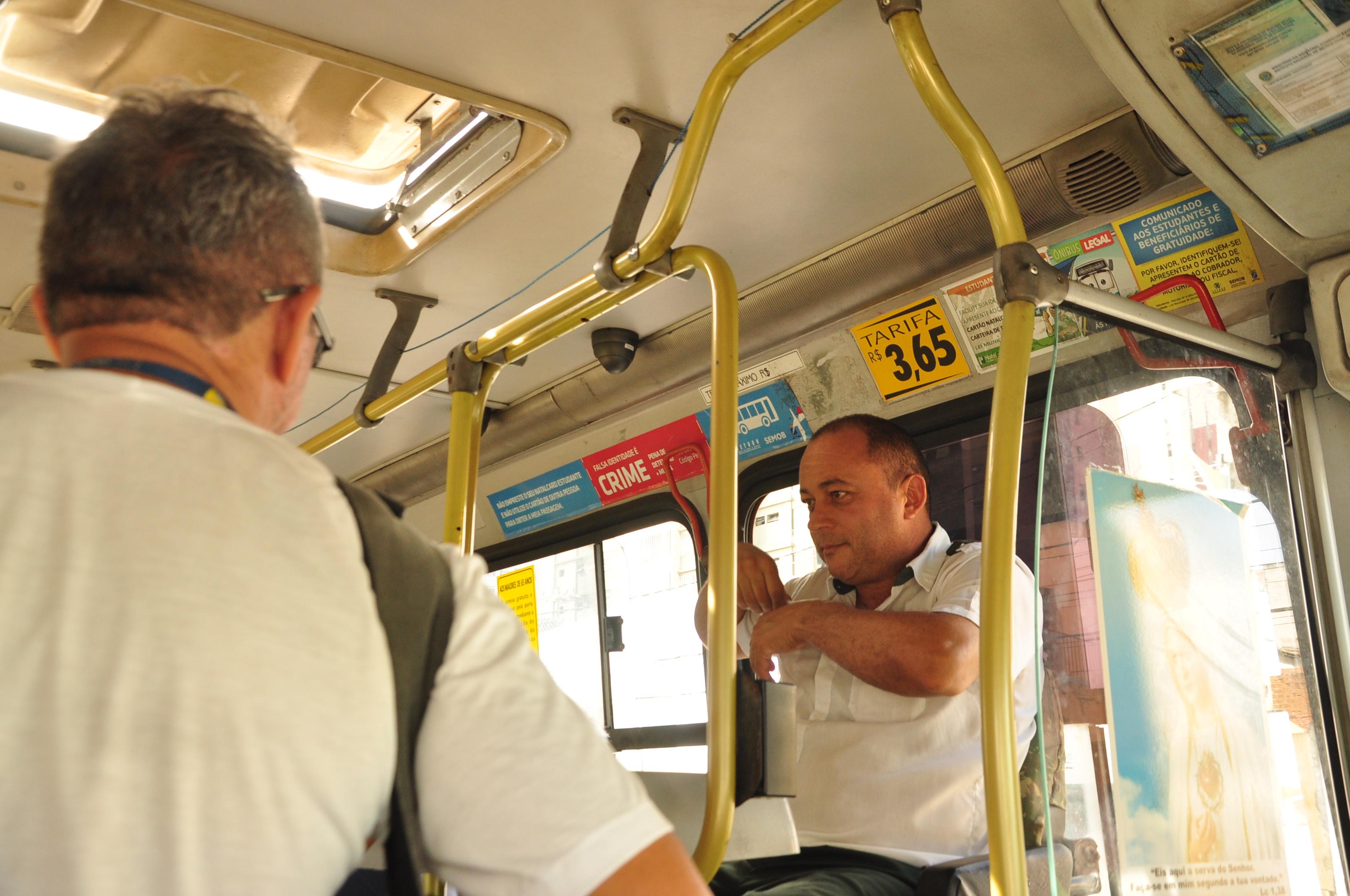 Enquete sobre passagem de ônibus 10