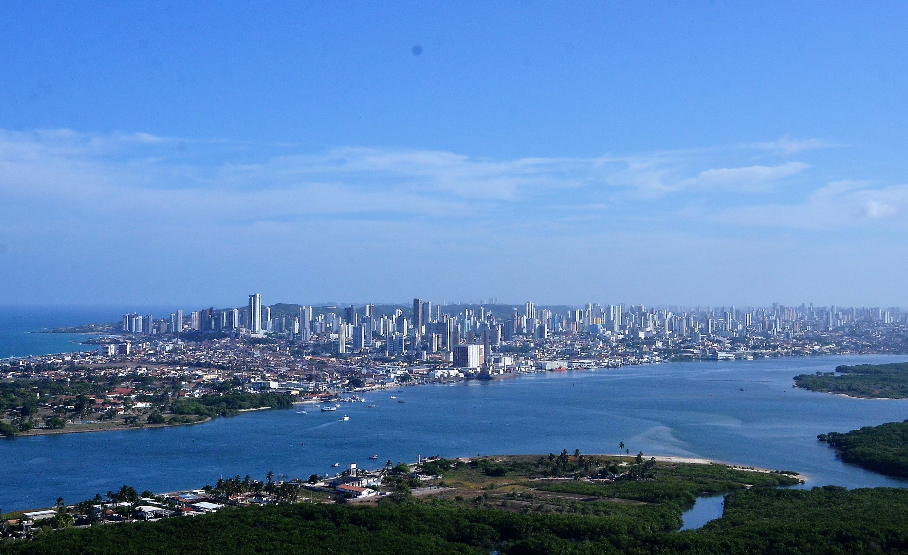 Foto Aérea Cidade de Natal Rio Potengi 280 52