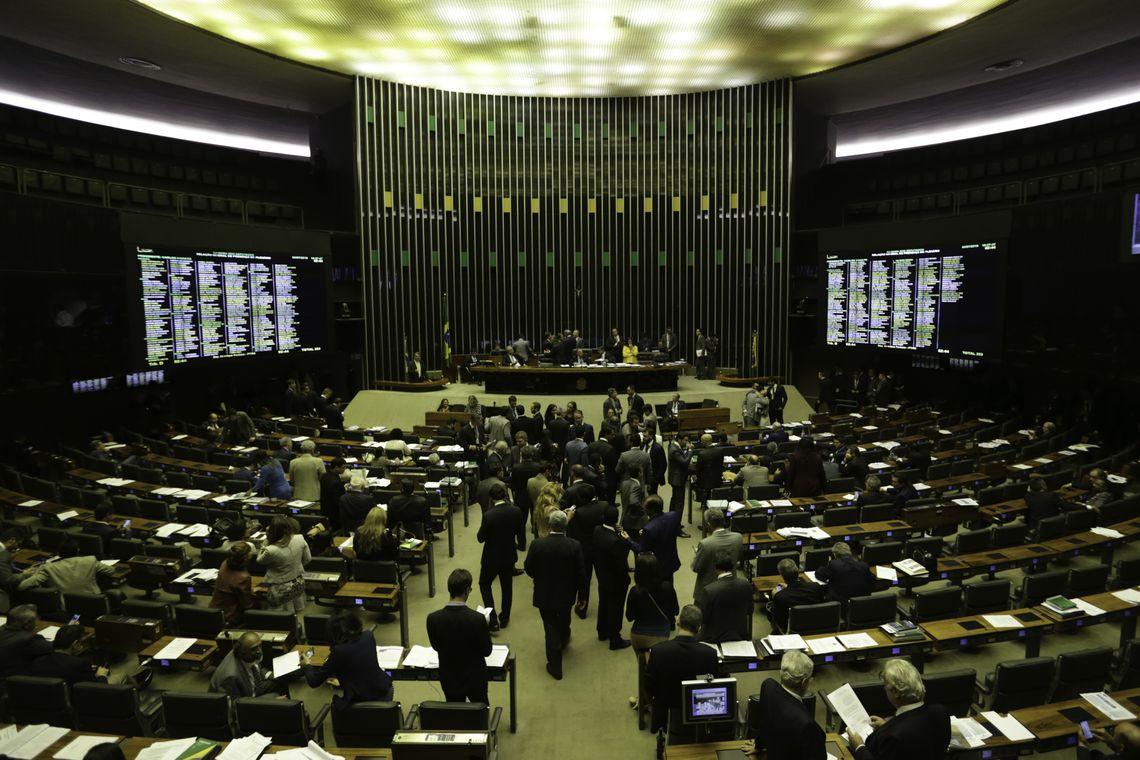 plenário câmara