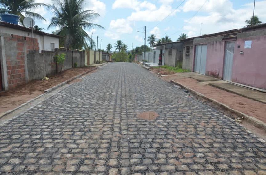 rua pavimentada