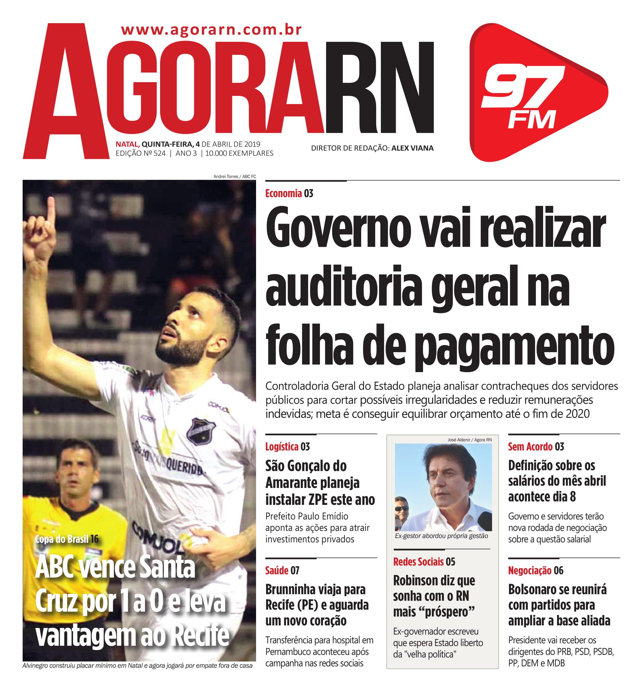 Agora Jornal Edição 524 01