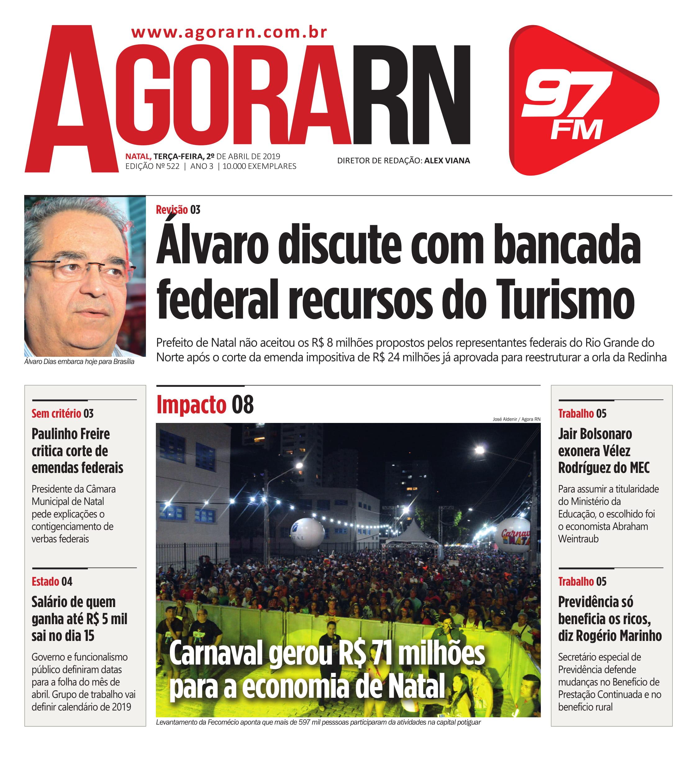 Agora Jornal Edição 527 01