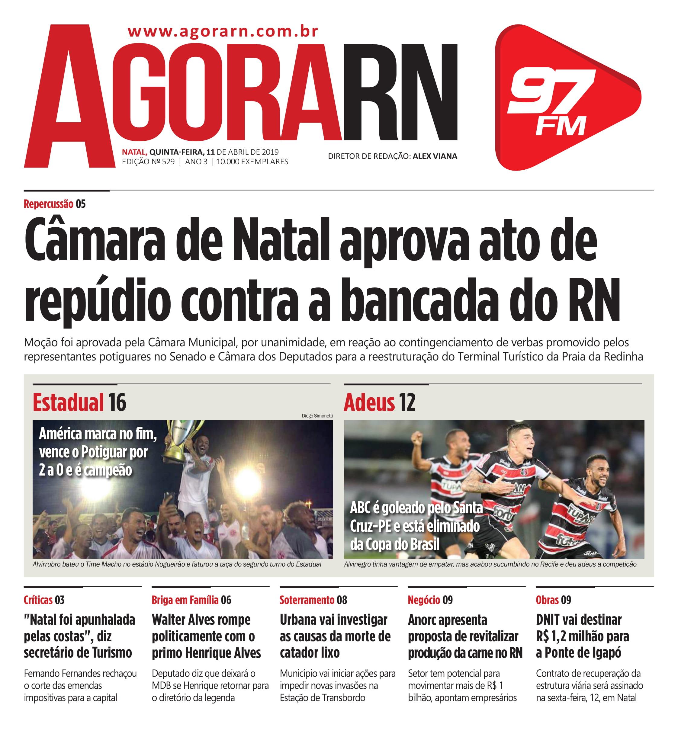 Agora Jornal Edição 529 01