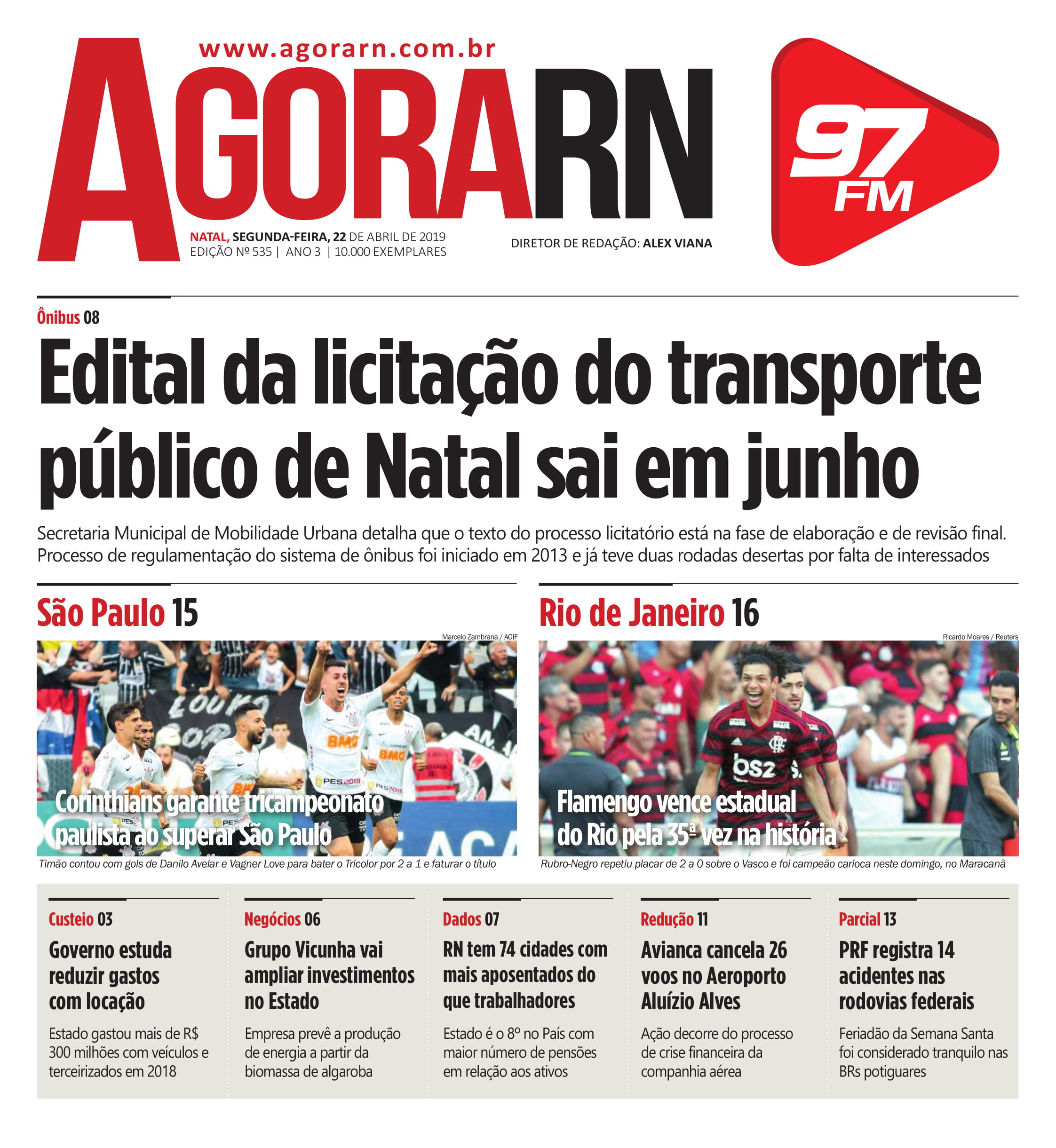 Agora Jornal Edição 535 01