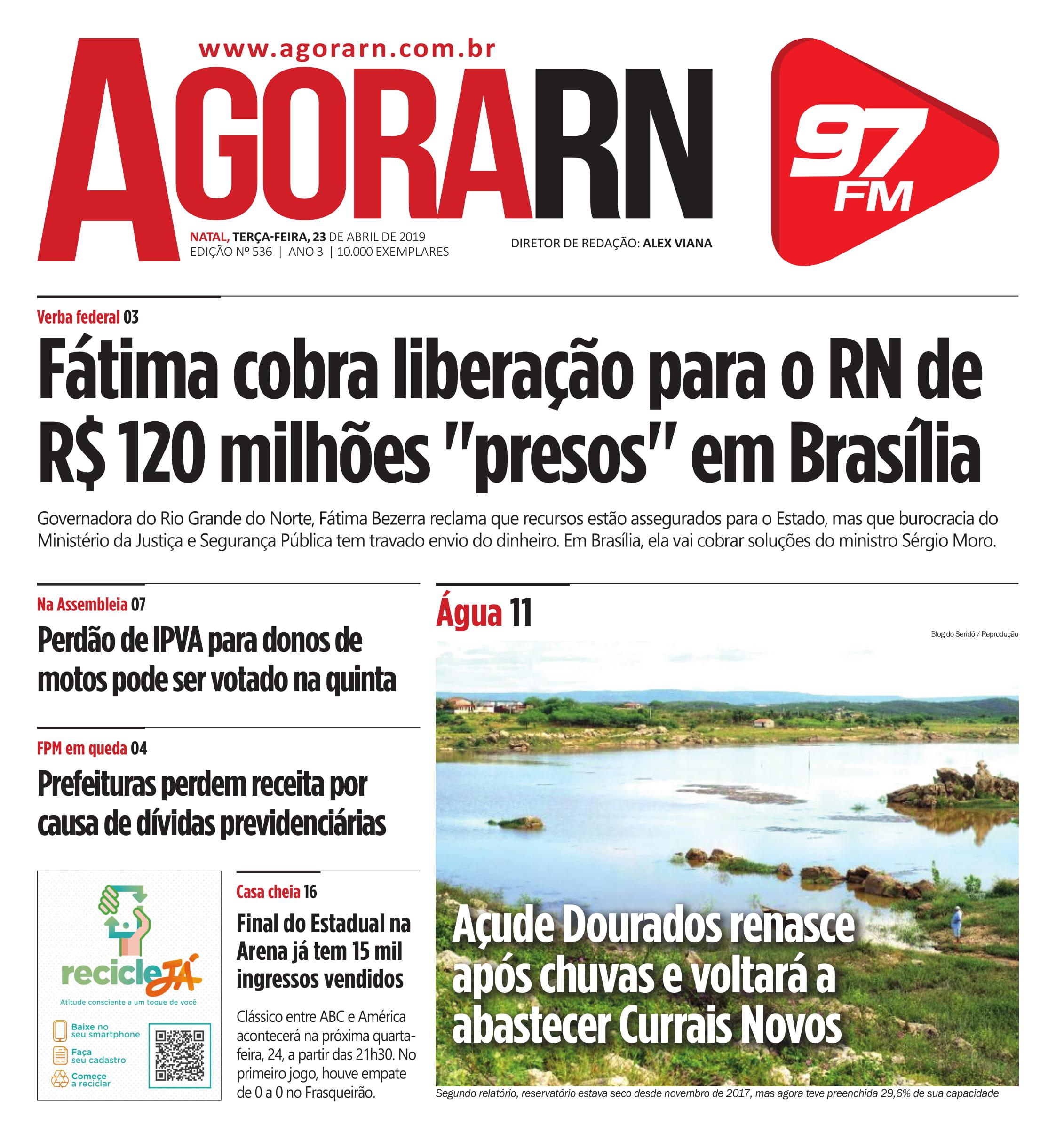 Agora Jornal Edição 536 01