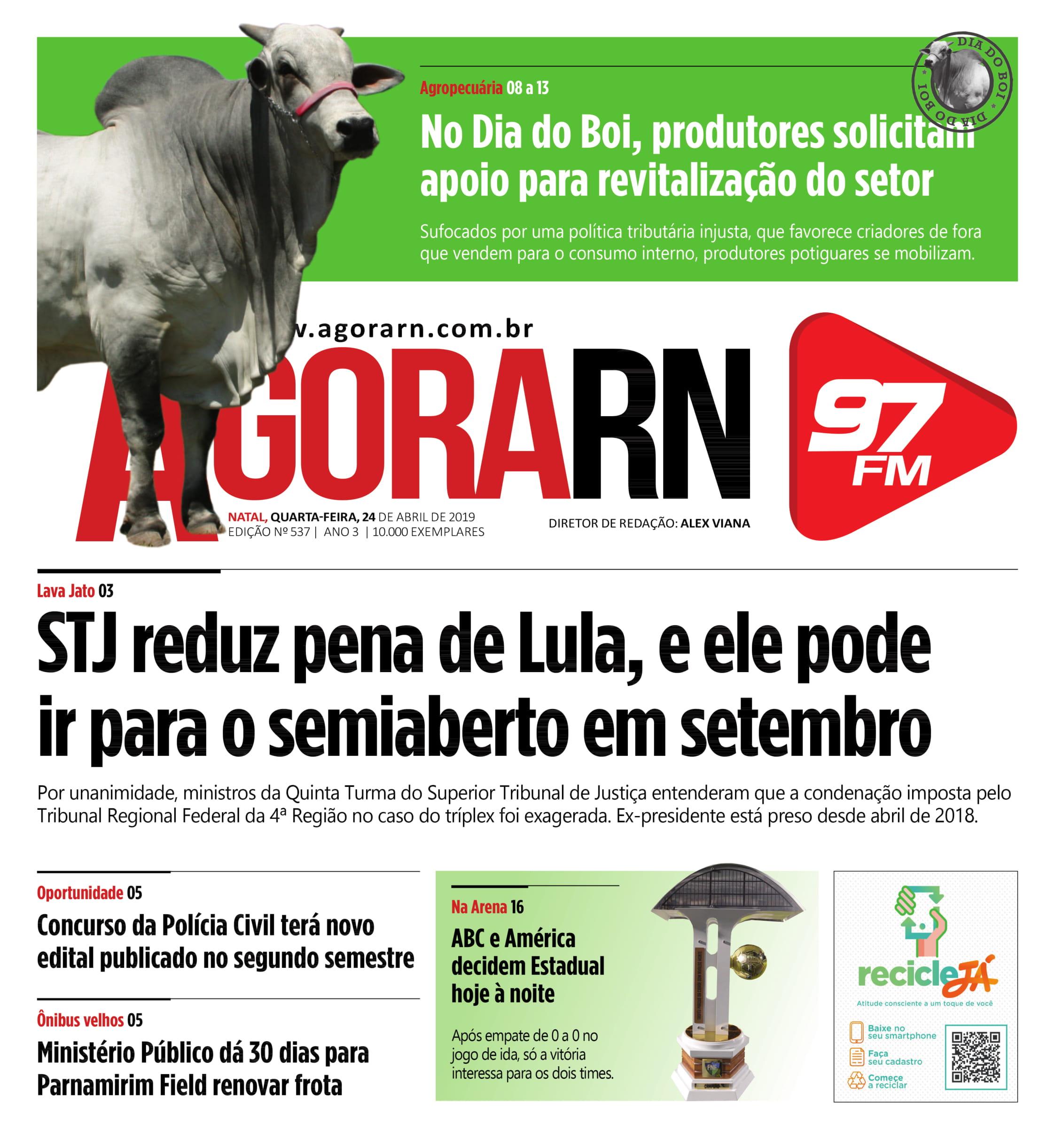 Agora Jornal Edição 537 01