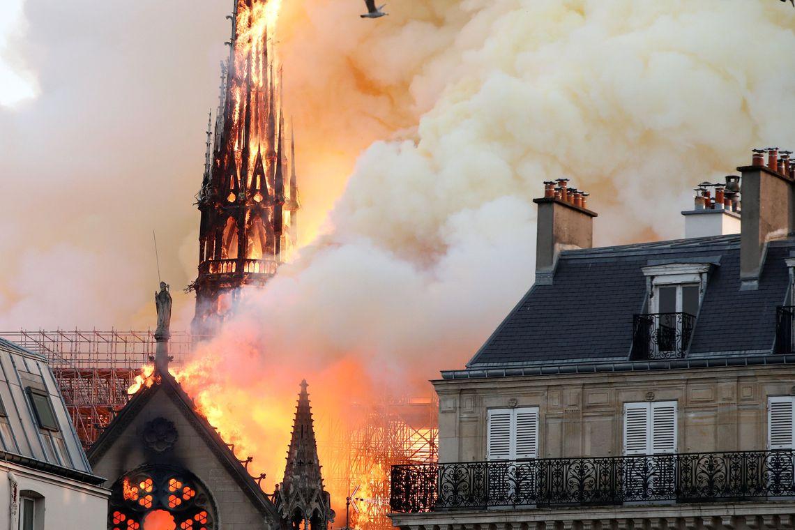 catedral incendio