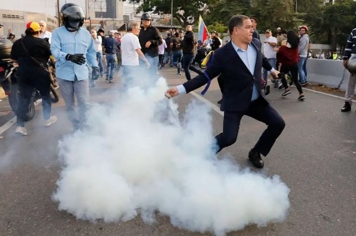 conflito caracas venezuela