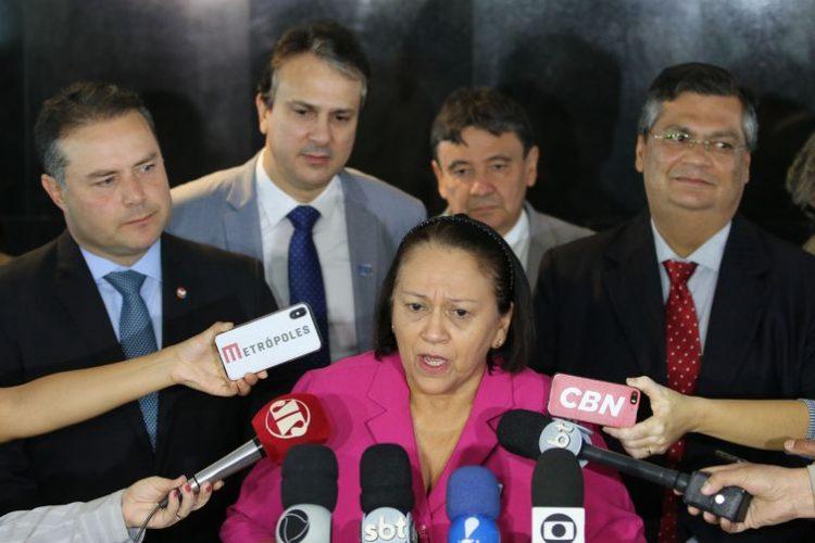 Fátima e mais 12 governadores assinam carta anti-facilitação do porte de armas