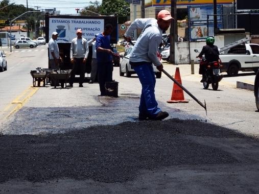 aplicacao asfalto pmn