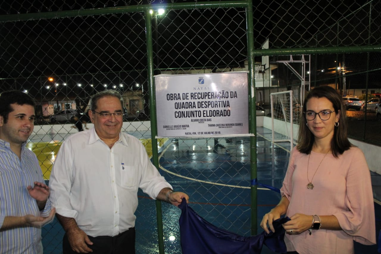 Inauguração Reforma Qaudra Conjunto Eldorado 22