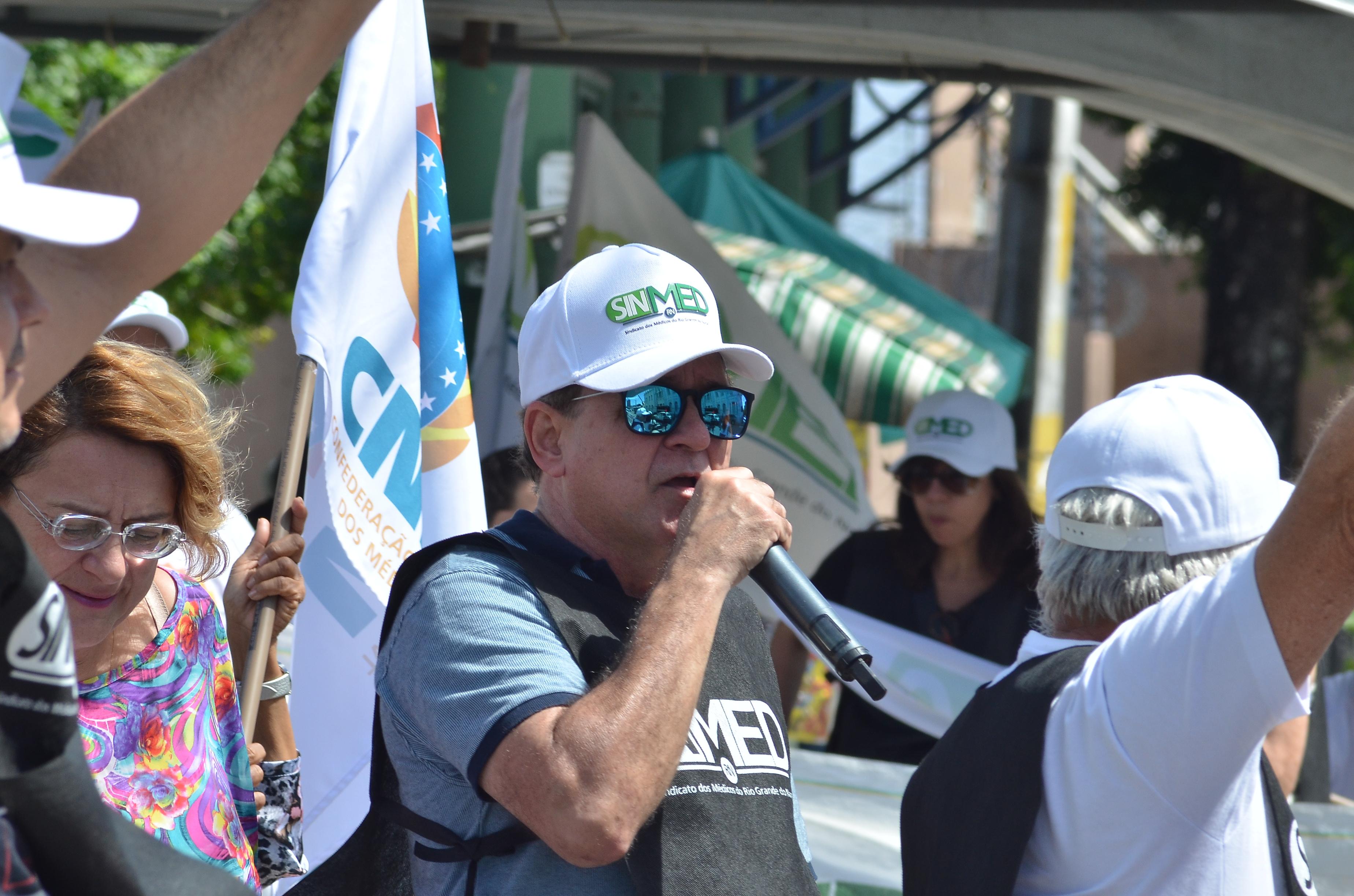 Protesto dos Médicos na Prefeitura do Natal Geraldo Ferreira 35