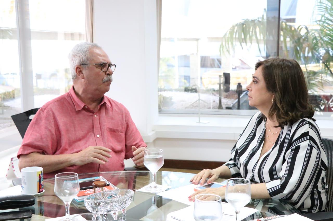 Reunião Sebrae Márcia Maia Zeca Melo