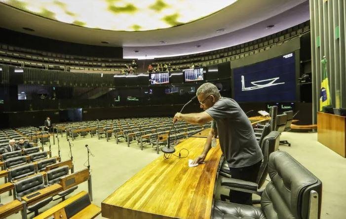 congresso vazio
