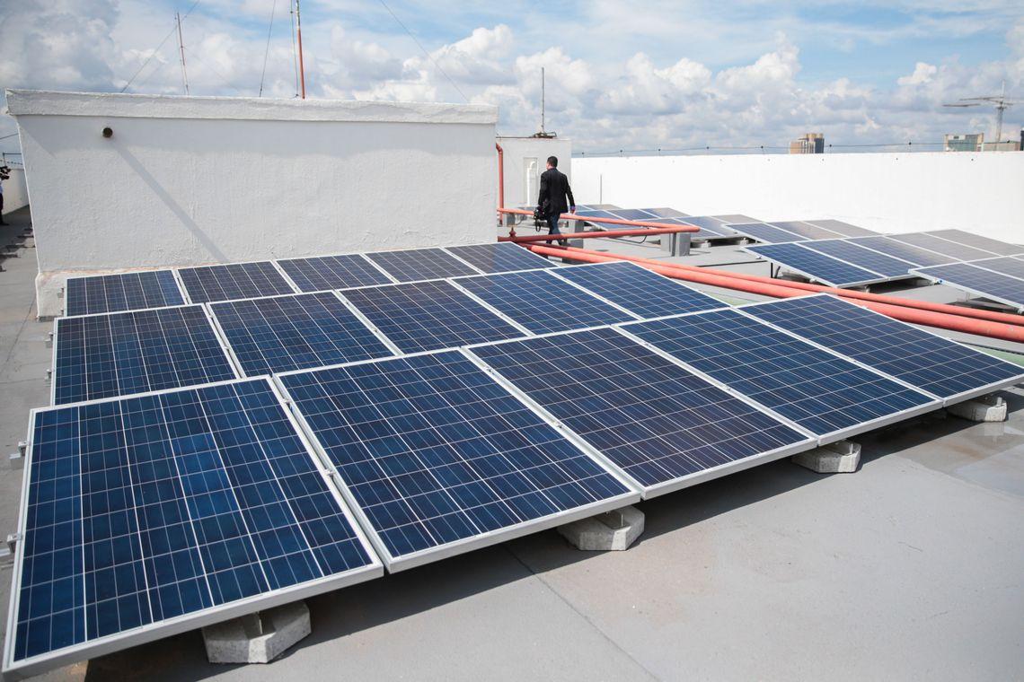 energia solar José Cruz