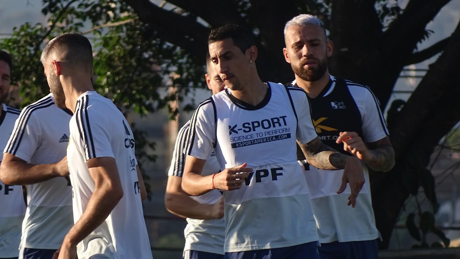 treino argentina