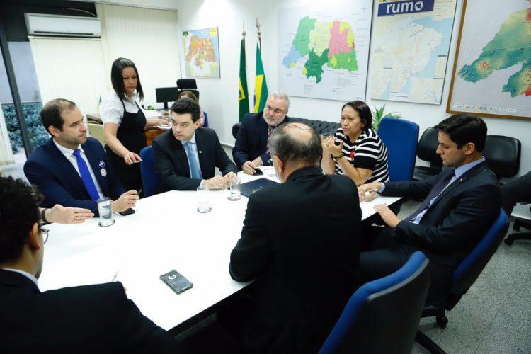 Resultado de imagem para Fátima reforça a união da bancada para a aprovação da pauta federativa