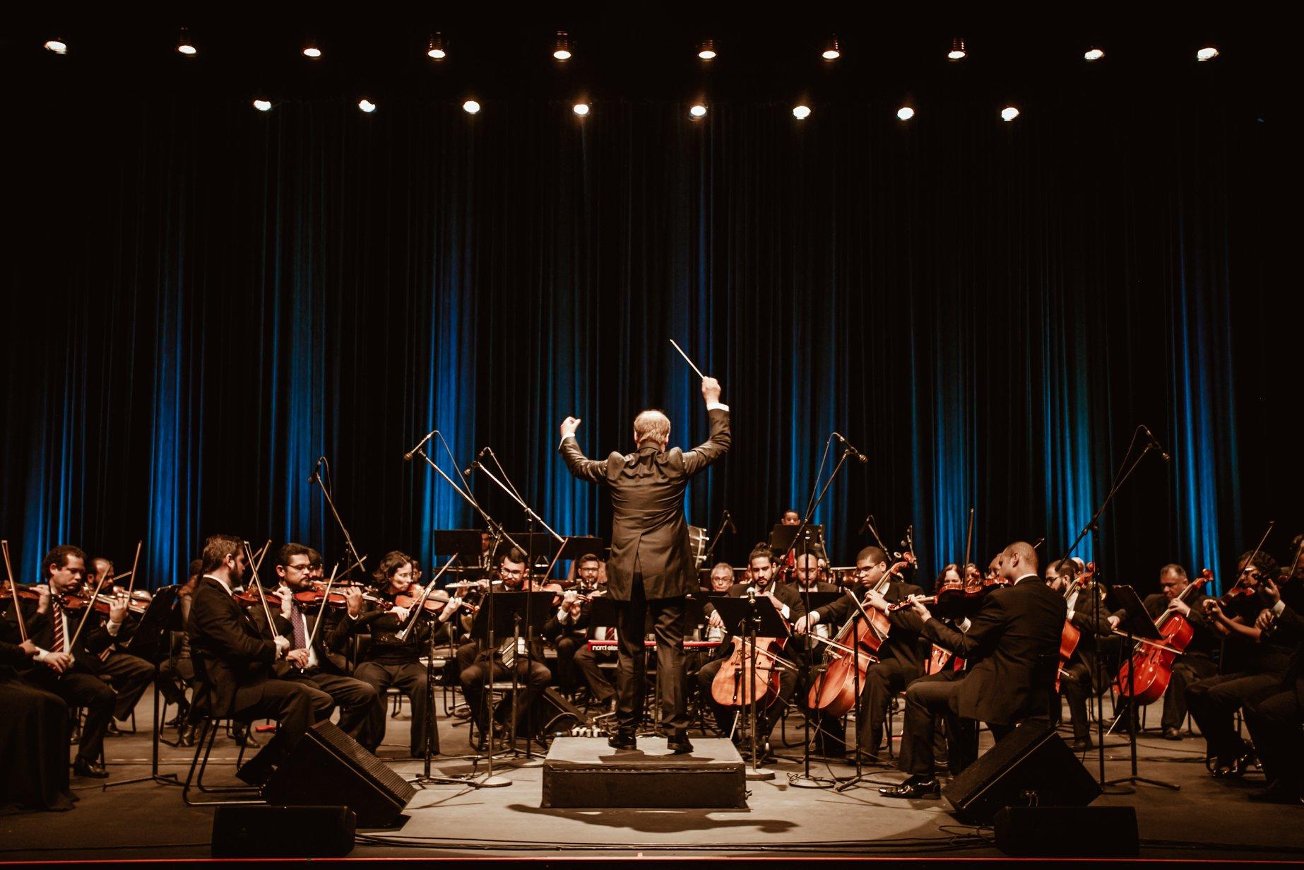 Orquestra Sinfônica do Rio Grande do Norte. Foto: Brunno Martins