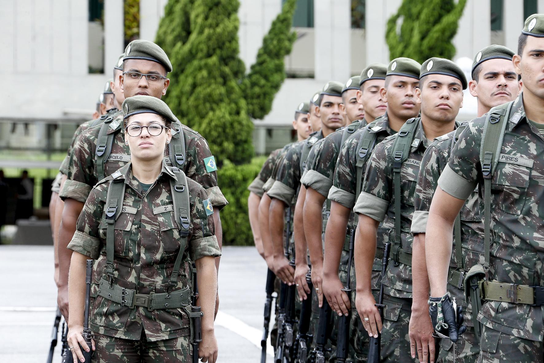 Militares. Foto: Marcos Santos/USP ImagensMilitares. Foto: Marcos Santos/USP Imagens