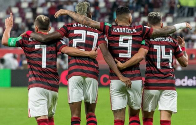 flamengo encerra preparacao para final e fifa define uniformes e arbitro