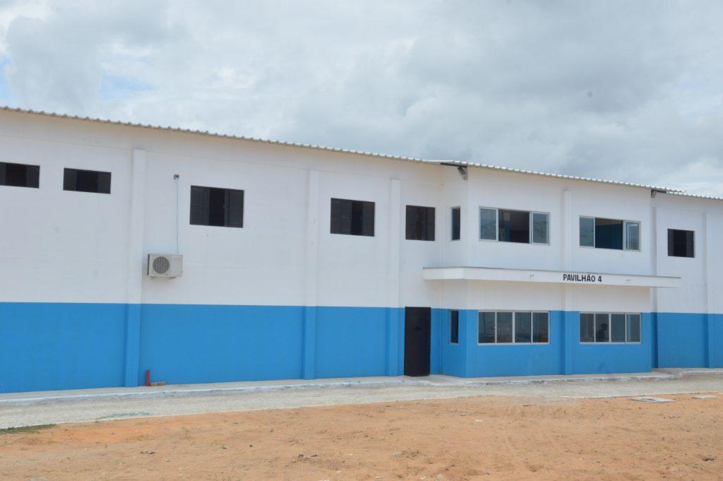 Novo pavilhão de Alcaçuz. Foto: José Aldenir/Agora RN
