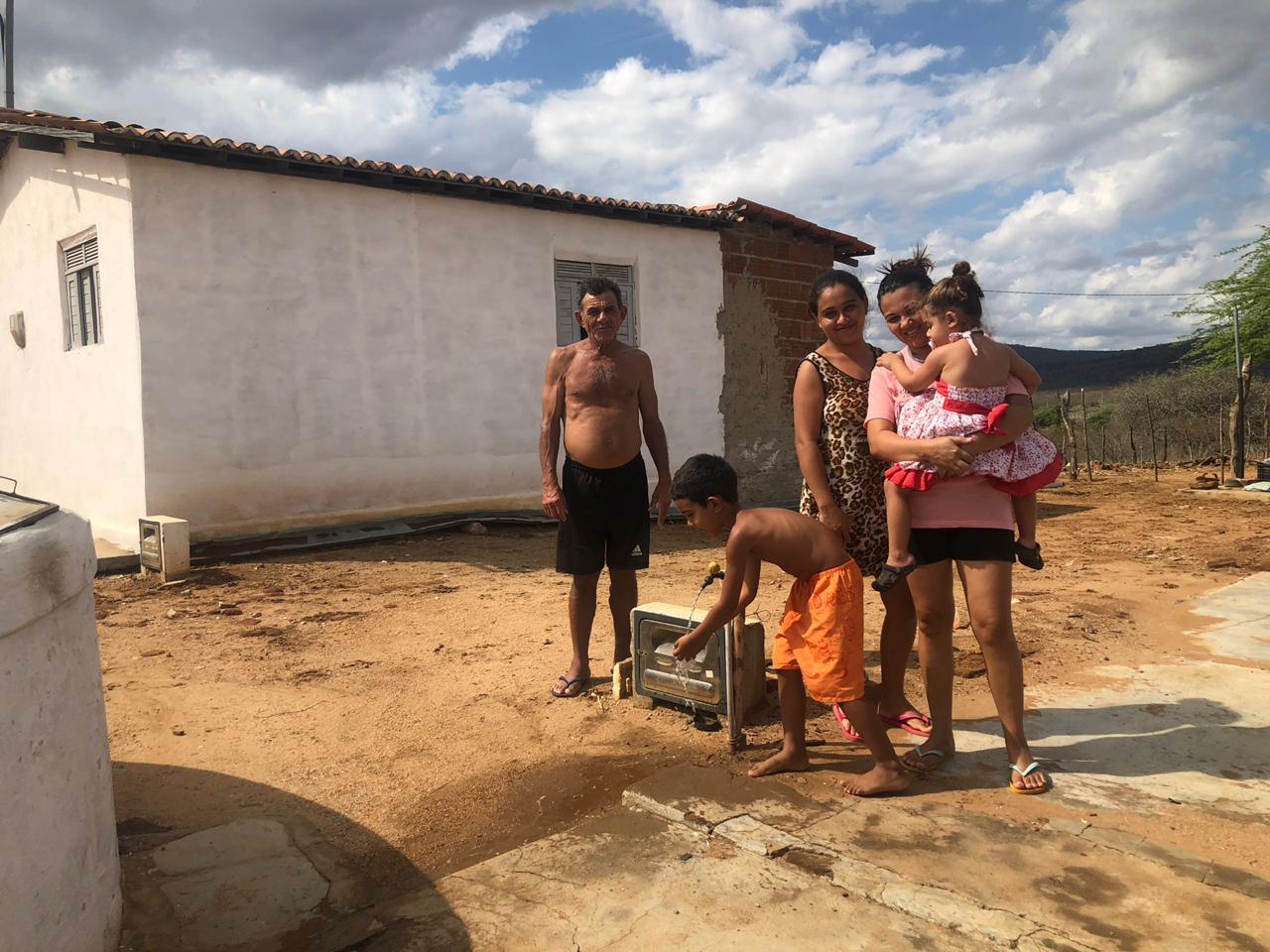 Comunidades Cotovelo e Extrema São Tomé