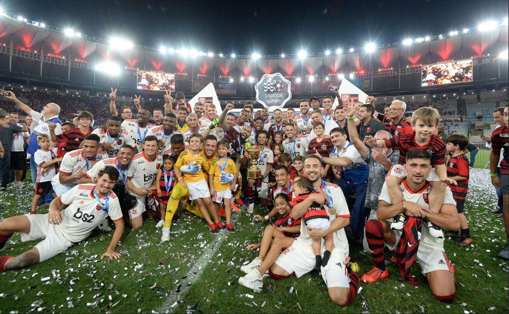 Fla campeão Carioca