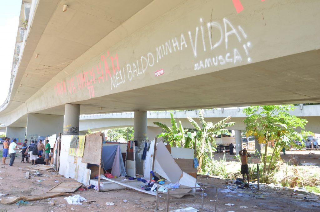 Viaduto do Baldo, na zona leste de Natal. Foto: José Aldenir/Agora RN
