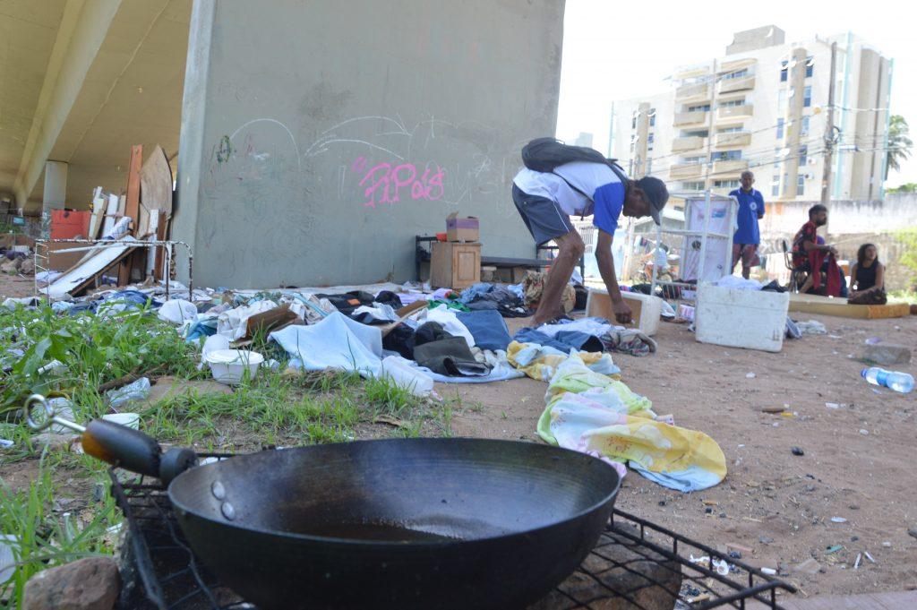 Cerca de 50 agentes da Guarda Municipal acompanharam a operação. Foto: Bruno Vital/Agora RN
