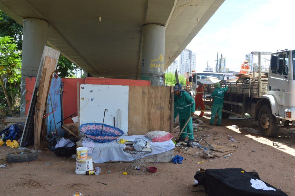 Operação ocorreu na manhã desta segunda. Foto: José Aldenir/Agora RN