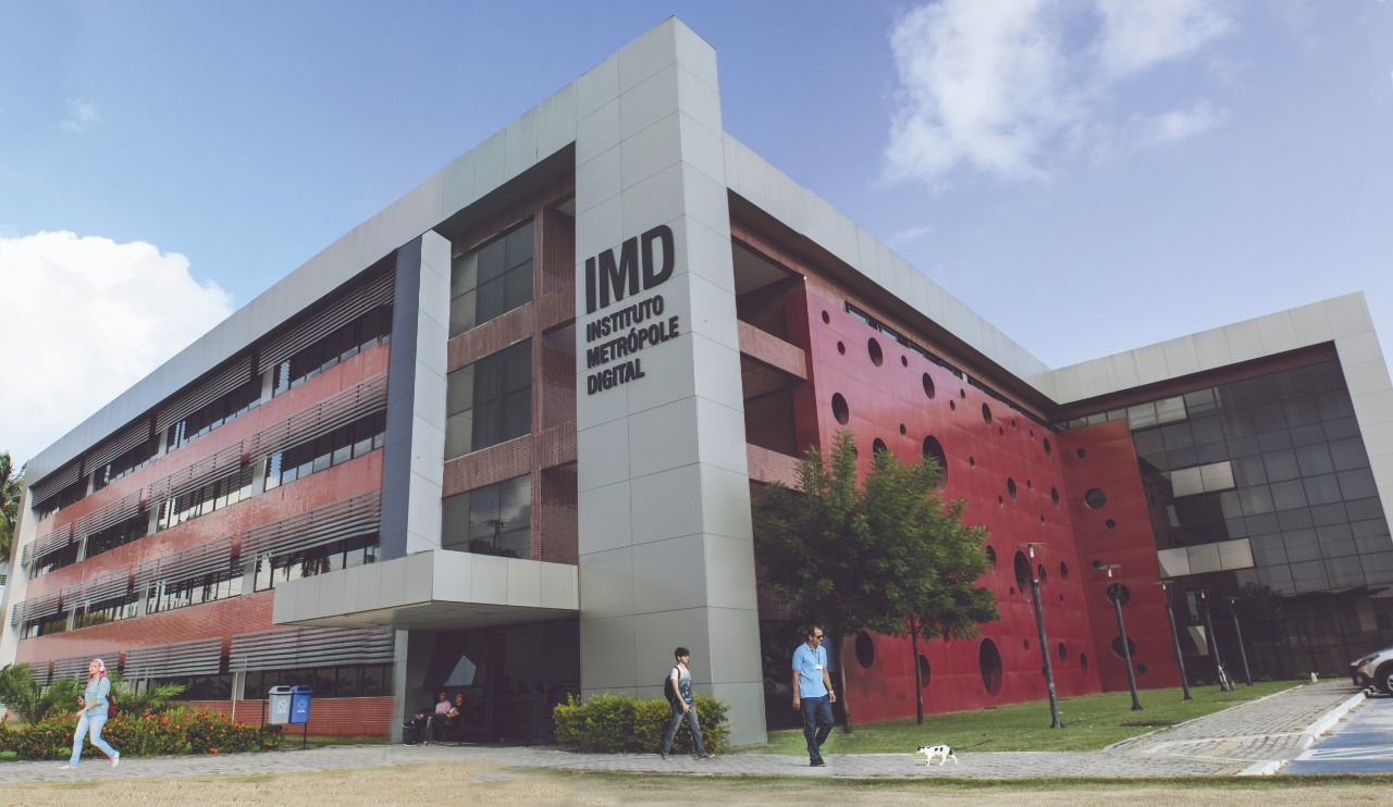 Fachada do IMD REDUZIDA