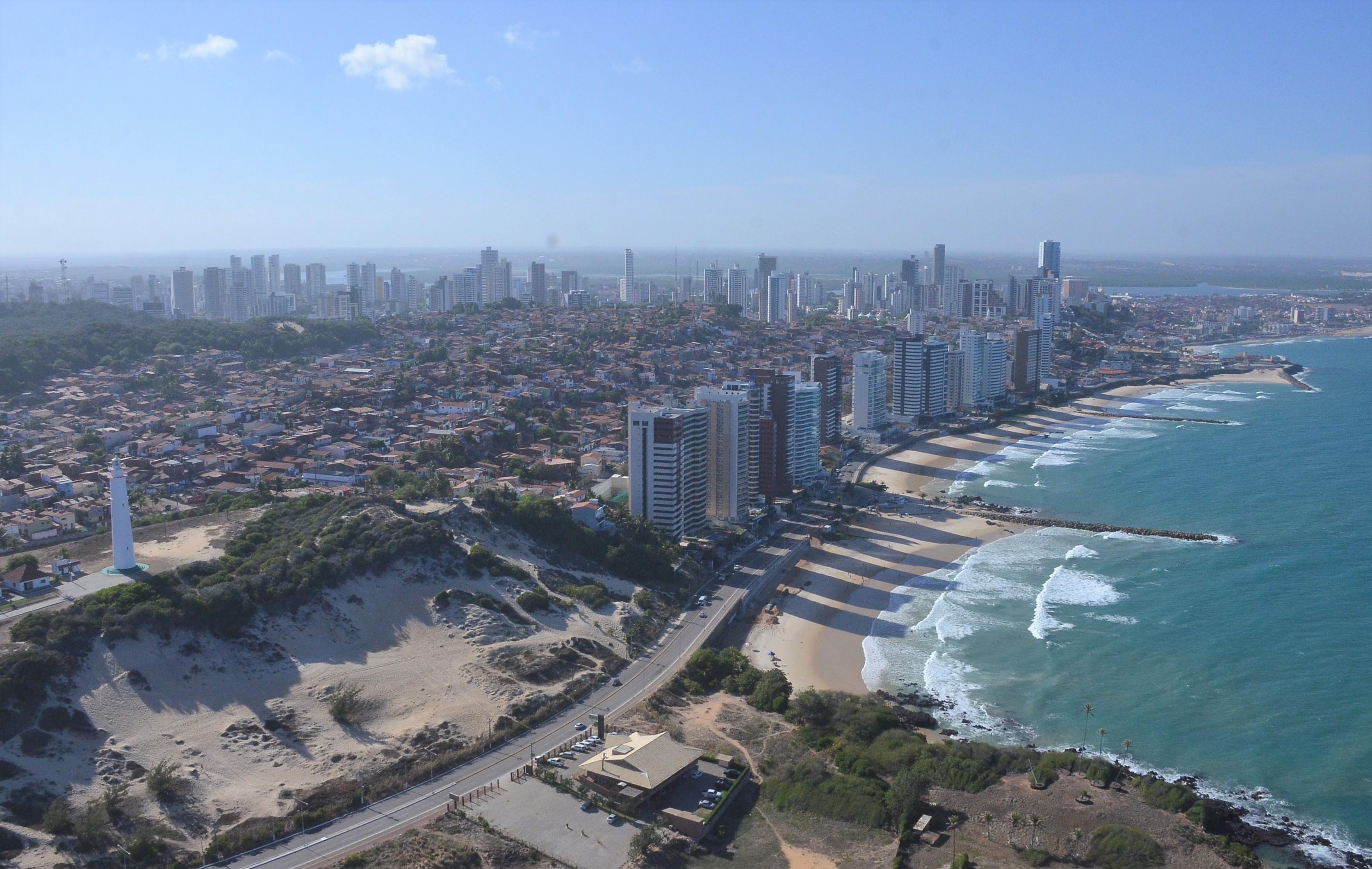 Foto Aérea Cidade de Natal Areia Preta 67