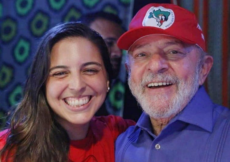 """Lula posta vídeo para elogiar Natália Bonavides: """"Trabalho ..."""