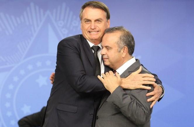 Rogério Marinho e Bolsonaro
