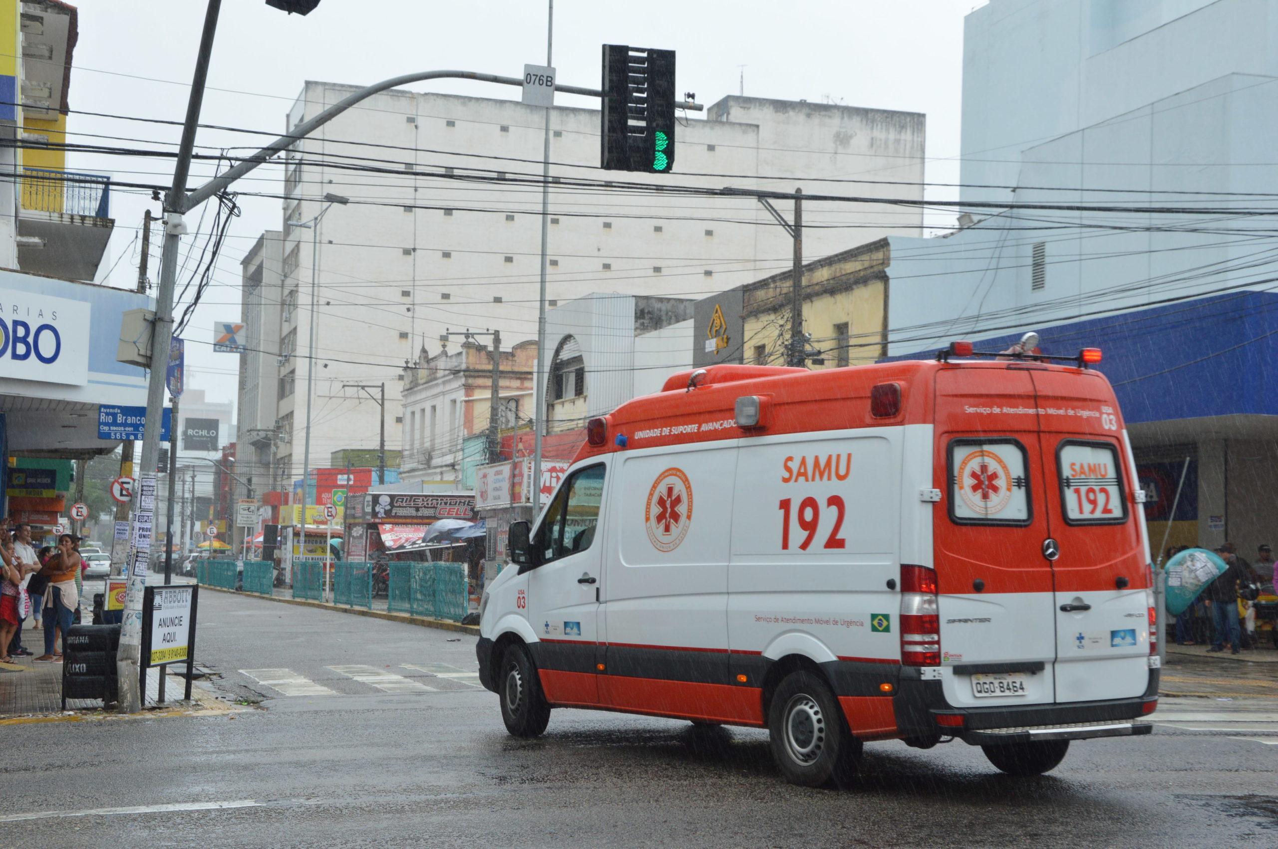 Assalto na Cidade Alta Bandido socorrido pelo Samu 17 scaled