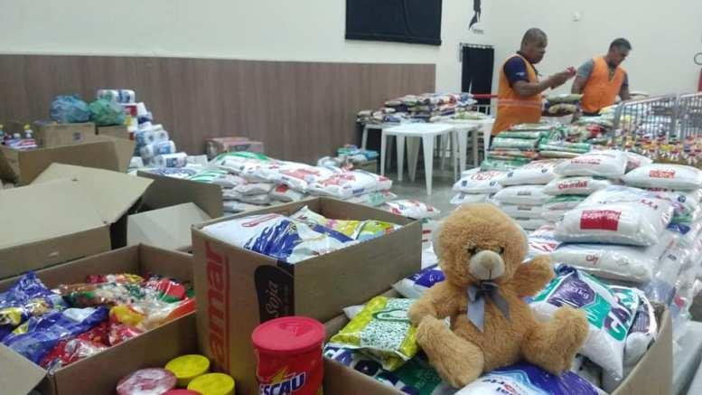 Continua essa semana a campanha de arrecadação de alimentos para vítimas das enchentes em MG