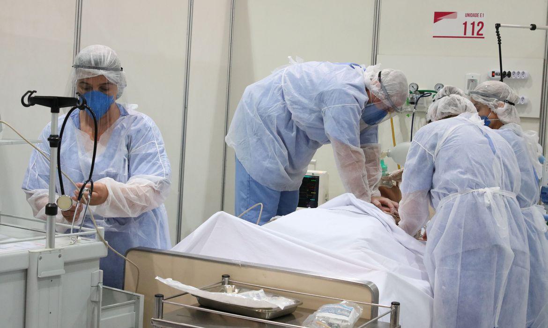 hospital de campanha covid
