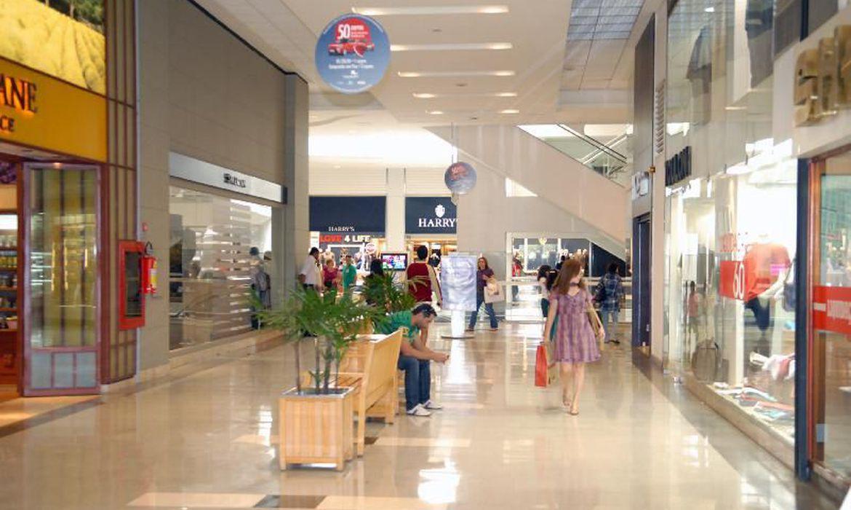 shopping vazio