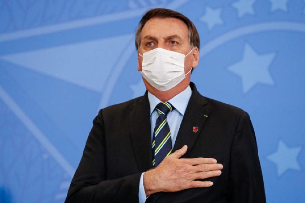 Bolsonaro durante a cerimônia de posse de Fábio Faria 768x512 1