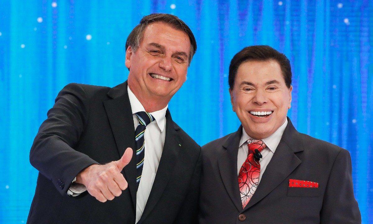 Jair Bolsonaro e Silvio Santos Foto Alan Santos PR 1200x720 1