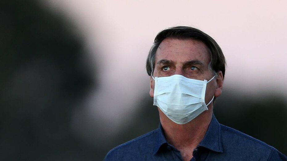 88829646 BrasilBrasiliaPA14 07 2020COVID 19Presidente Jair Bolsonaro em isolament