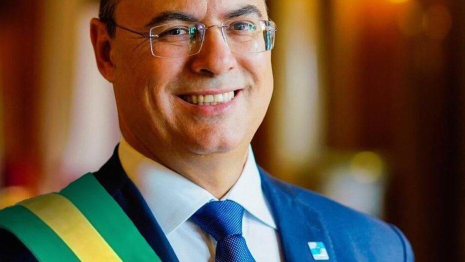 Wilson Witzel em montagem como presidente