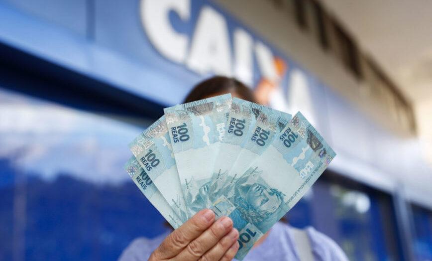 caixa dinheiro