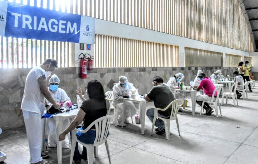 Prefeitura de Natal abrirá centros de enfretamento à Covid-19 neste sábado
