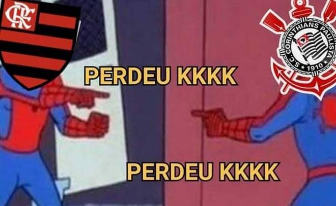 memes flamengo corinthians 13082020004850379